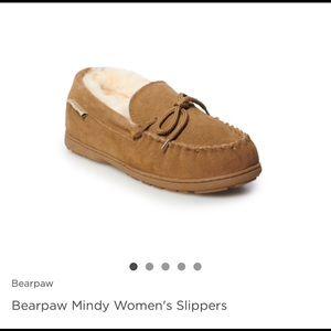 Brand New! Bear paw Mindy slippers